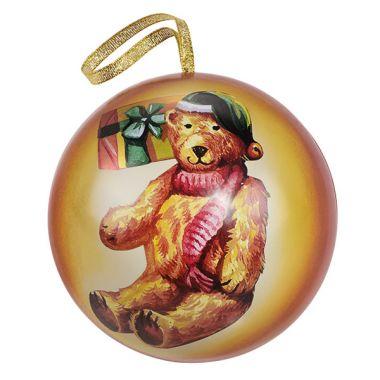 "Große Weihnachts-Kugel ""Teddybär"""