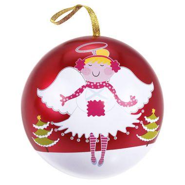 "Weihnachts-Kugel ""Engel, rot"""