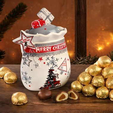 """""""Merry Christmas"""" - Dose (ohne Inhalt)"""
