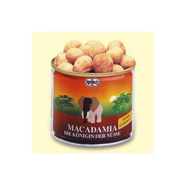 Macadamia-Nüsse Honig geröstet