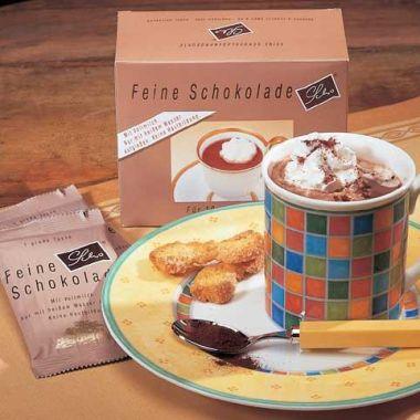 Feine Trinkschokolade