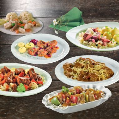 6 Richtige Mahlzeitenpaket