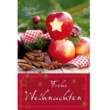 Grußkarte Weihnachtsstern