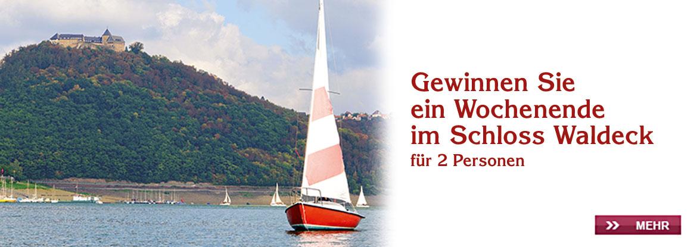 Gewinnspiel Schloss Waldeck